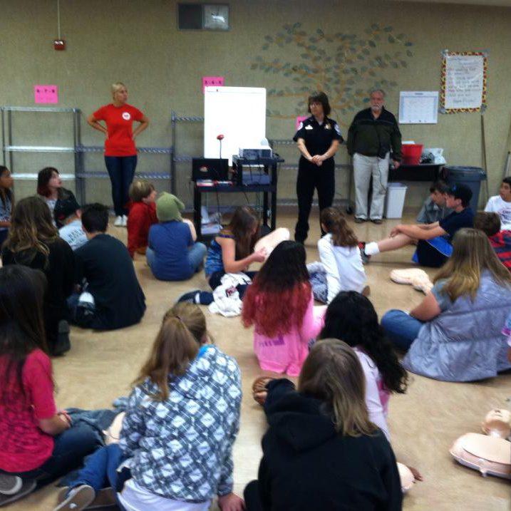 44 7th graders at Santa Rosa Charter School